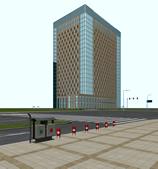 大厦,现代建筑场景3d模型