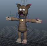 小熊MAYA模型