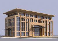 政府办公大楼3D模型