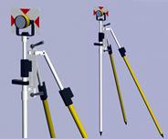 精细全站仪棱镜3D模型