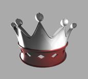maya皇冠模型