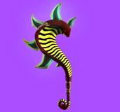 蛇形法杖,魔杖maya模型