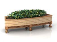 植物盆栽,绿化植物3D模型