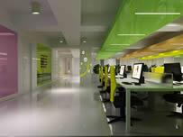 办公室,办公区域3D模型