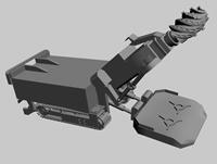挖煤机,挖掘机3D模型