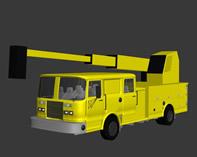 自己做的吊车3D模型