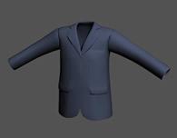 西服,西装,上衣,外套,衣服3D模型