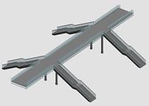 天桥,桥3D模型