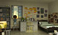 制作非常精致的卡通女孩小房间3D模型