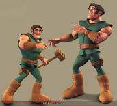 卡通人物maya模型