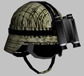 美国陆军头盔3D模型(带夜视仪和护目镜)