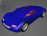 audi奥迪概念汽车3D模型