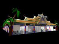 国际馆国际专区展厅3D模型
