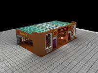 家具展厅,展览厅3D模型