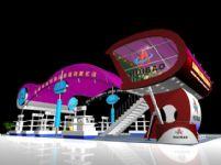 公司通用展示,展览厅3D模型