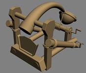投石机3D模型
