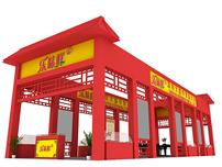 乐味鲜产品展厅3D模型