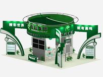 景鸣纸业展厅3D模型