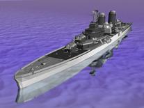 军舰,护卫舰3D模型