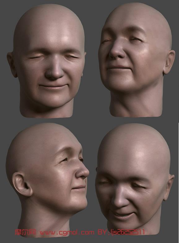 人头3d模型
