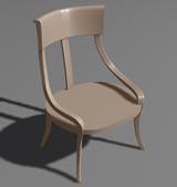 简易椅子3D模型