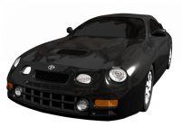 丰田Toyota Celica GT4,3D汽车模型