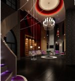 奢华室内大厅,时尚客厅3D模型