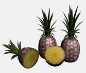 菠萝3D模型