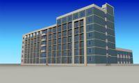 公建,宿舍,大楼,办公楼3D模型