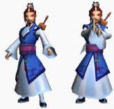 网游神仙道酒剑仙的3D模型