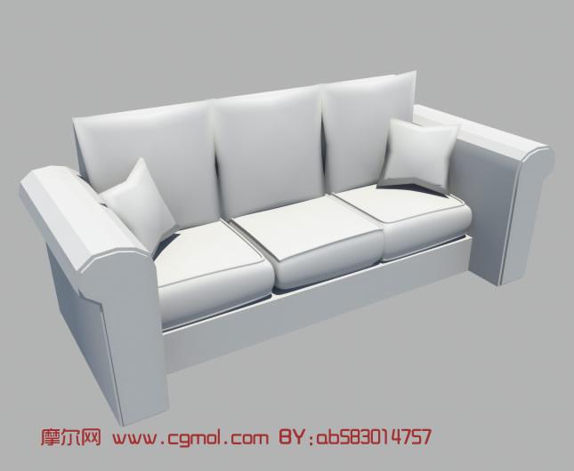 简单室内小场景3d模型   室内家具maya模型   maya简易沙发高清图片