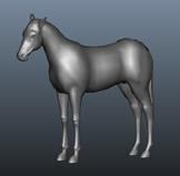 马maya模型
