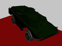 玩具车3D模型(带车上坡动画)