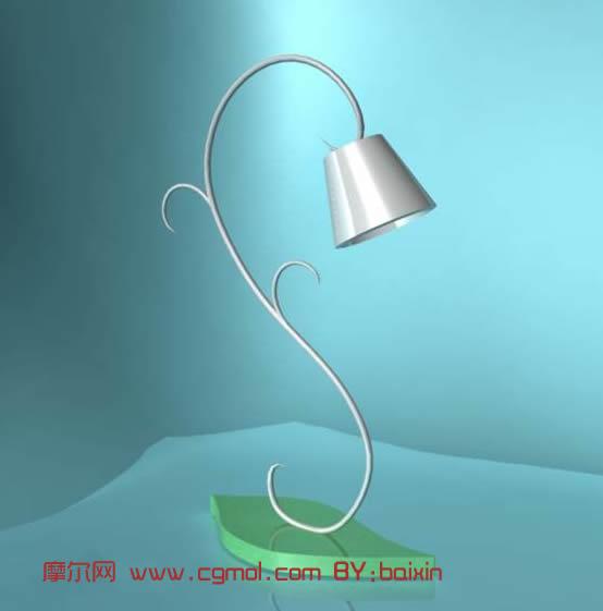 很简单的台灯maya模型高清图片