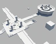 四方门祭坛,原创小游戏3d场景模型