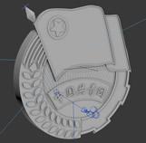 中国共青团团徽3D模型