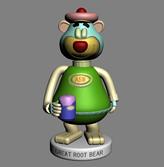玩具熊,玩偶熊3D模型