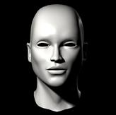 基础人头,人体3D模型