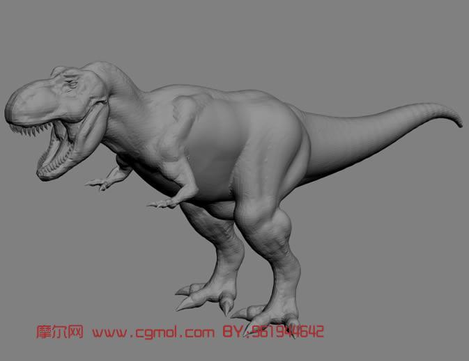 恐龙霸王龙嘴简笔画; 关于霸王龙的简笔画