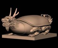 神兽�P��,龙龟,龟趺,霸下,填下3D模型