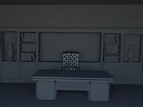 书房,办公室3d模型