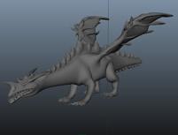 飞龙,翼龙,猛龙maya模型