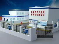 变电站广告规划3D模型