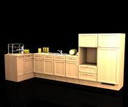 厨房,橱柜3D模型