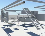 室内场景maya模型(人物搬方块动作)