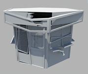 破旧的房子,房屋,屋子maya模型
