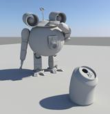 robot,机器人maya模型