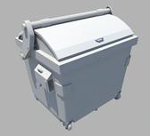 垃圾箱maya模型