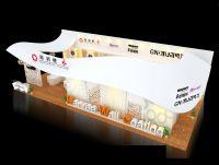 装饰公司展厅,壁纸展厅,展馆3D模型