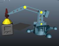 机械手动画3D模型